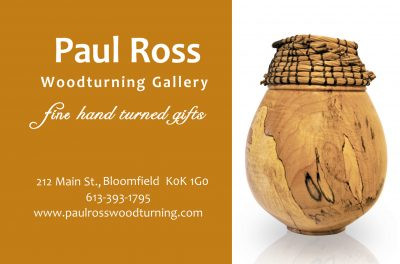 Paul Ross Wood Turning